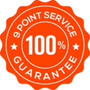 Hey Security 9 Point Service Guarantee